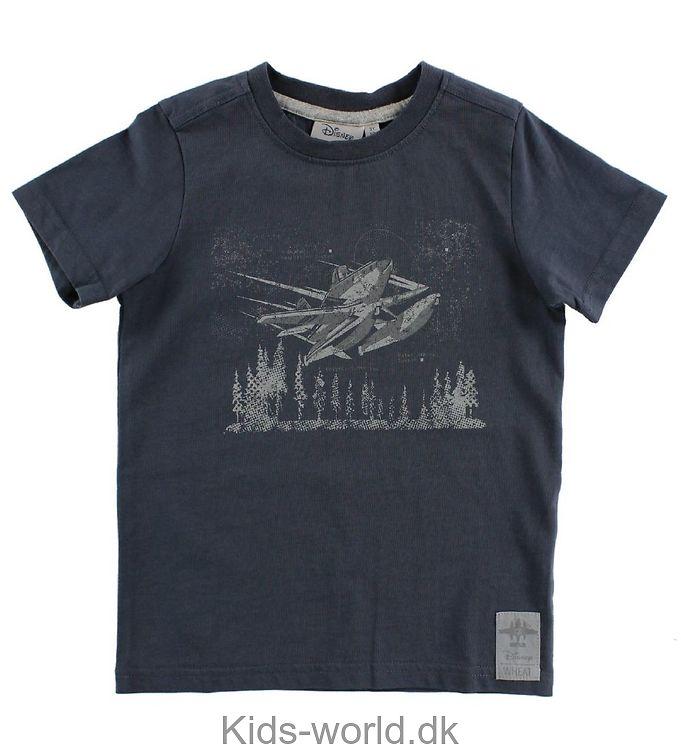 Wheat Disney T-shirt - Greyblue m. Dusty