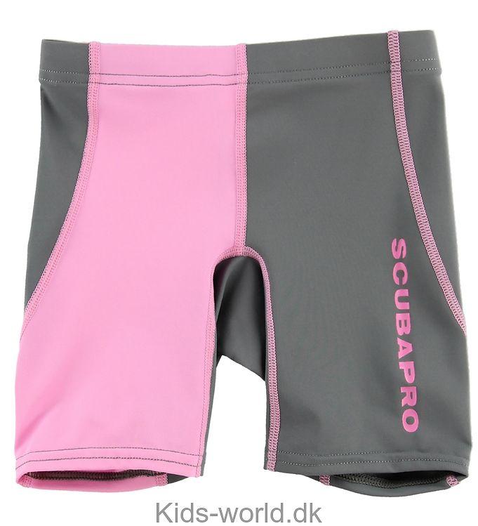Scubapro Badeshorts - Harmony Rash - UV50 - Grå/Pink