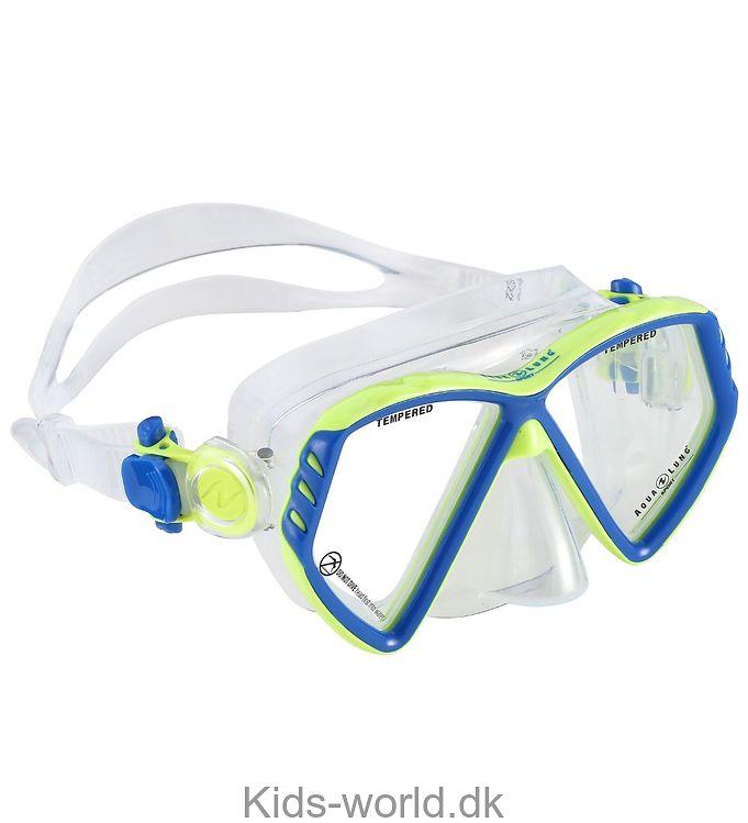 Aqua Lung Dykkermaske - Cub Kid - Lysegrøn/Blå