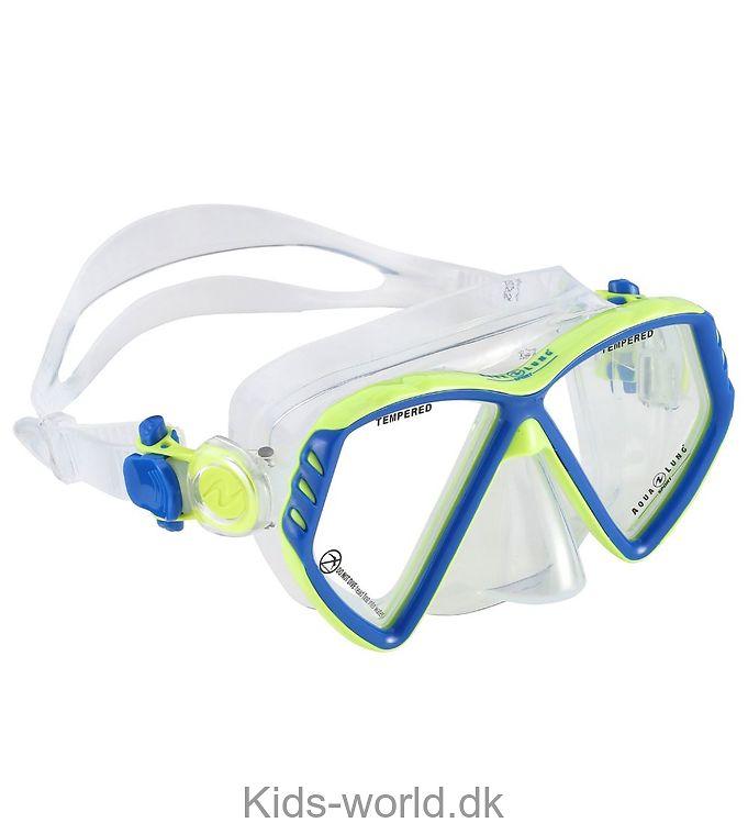 Aqua Lung Dykkermaske - Cub Jr - Lysegrøn/Blå