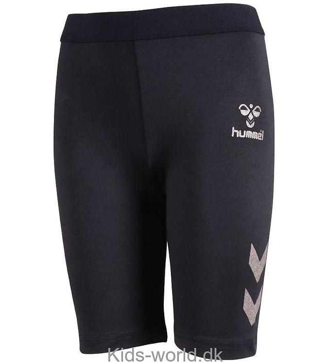 Hummel Shorts - Birgitte - Navy m. Sølv Vinkler