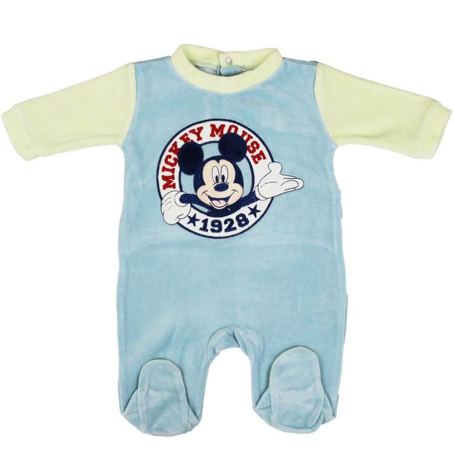 Mickey Mouse Sparkedragt Til Nyfødt