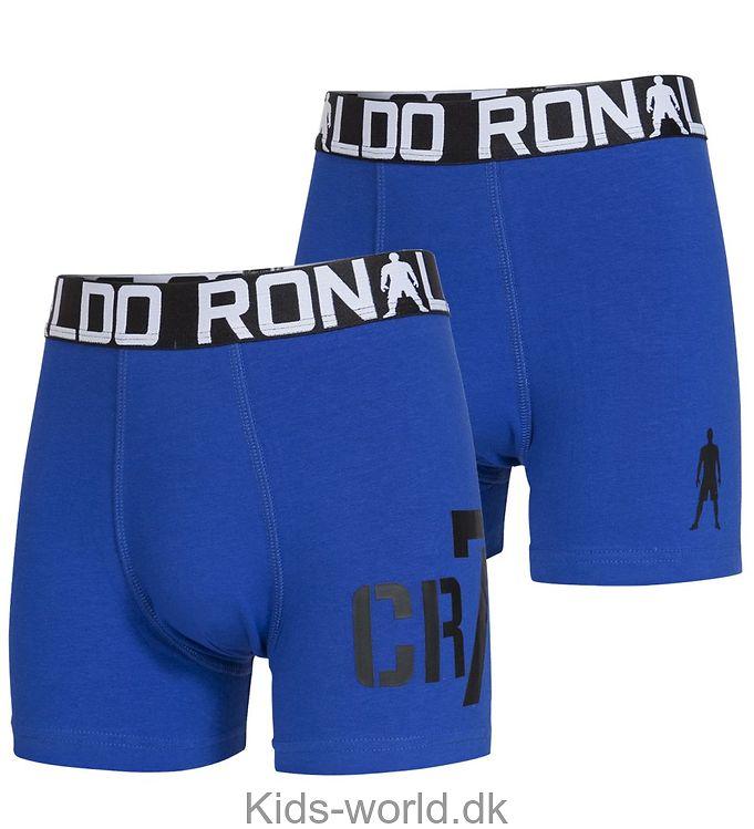 Ronaldo 2-Pak Boxershorts - Blå