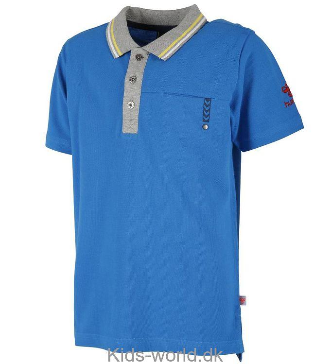 Hummel Polo T-shirt - Jannik - Turkis