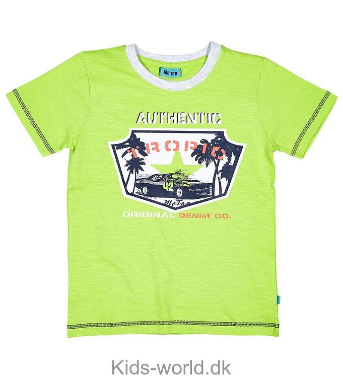 Me Too T-shirt - Grønmeleret m. Print
