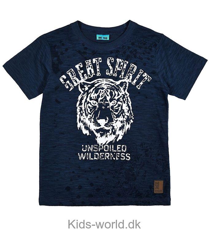 Me Too T-shirt - Navy m. Tiger