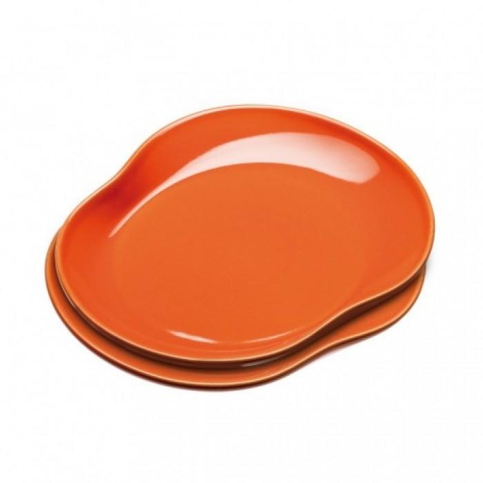 Mano tallerken (orange)