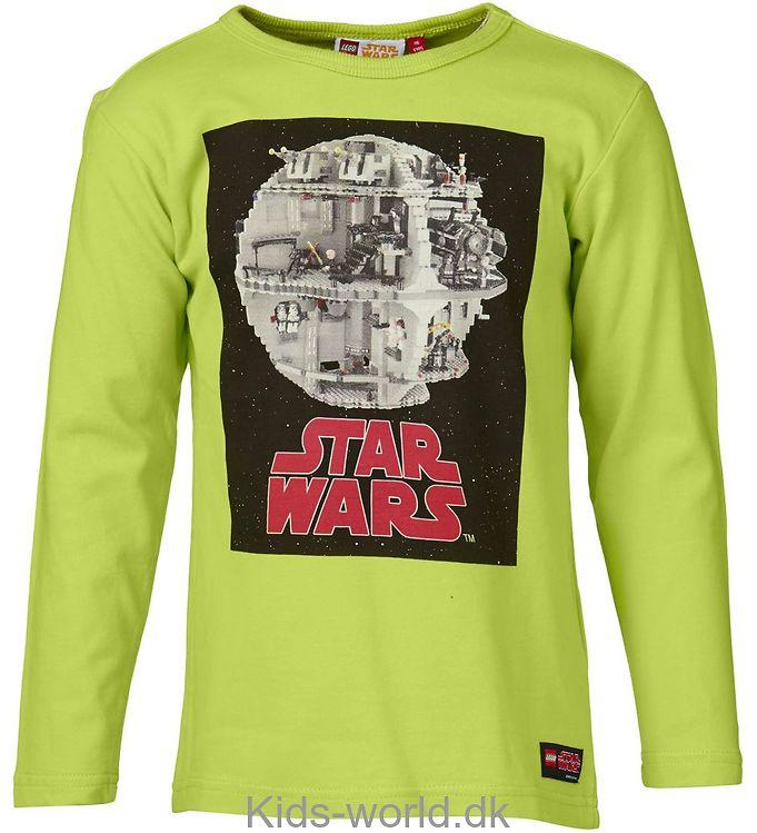 Lego Star Wars Bluse - Limegrøn