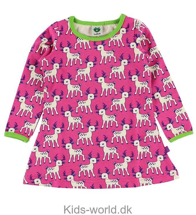 Småfolk Kjole - Pink m. Bambi
