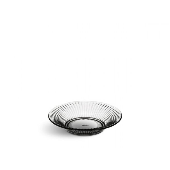 Hammershøi tallerken glas (smoke/lille)