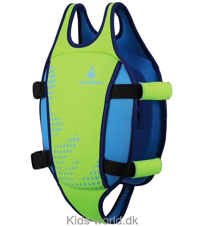 Aqua Sphere Svømmevest - Lime/Blå