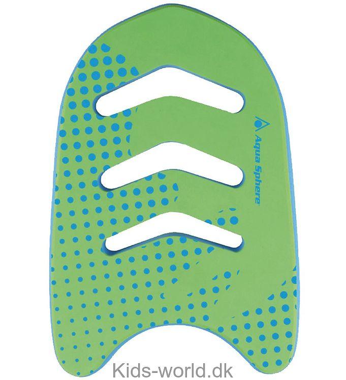 Aqua Sphere Svømmebræt - Kickboard Jr - Grøn/Blå