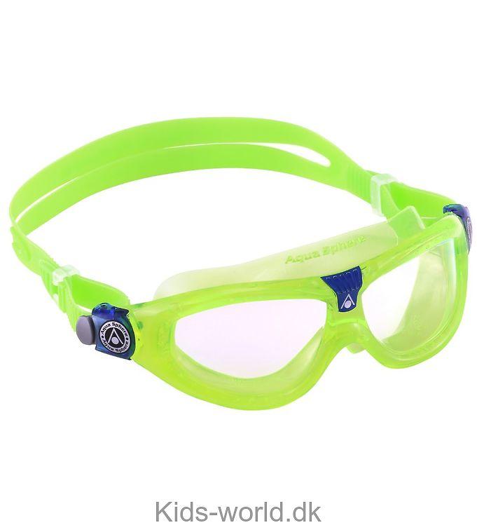 Aqua Sphere Svømmebriller - Seal Kid 2 - Lime