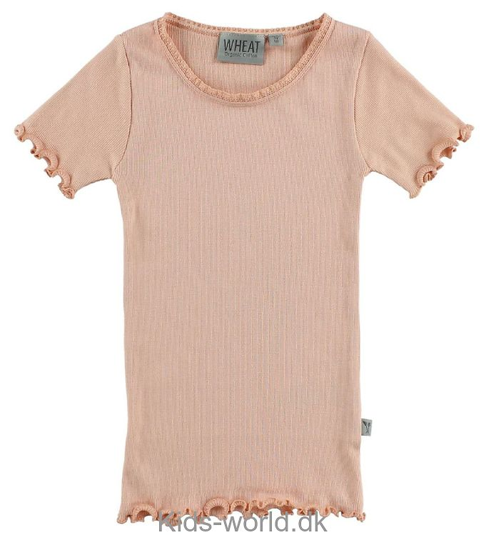Wheat T-shirt - Koral m. Blonder