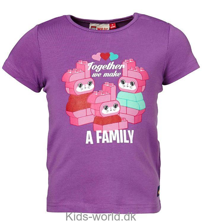 Lego Duplo T-shirt - Lilla m. Kaniner