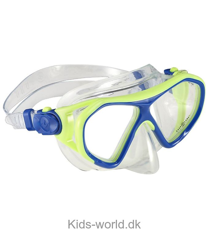 Aqua Lung Dykkermaske - Urchin Jr - Lime/Blå