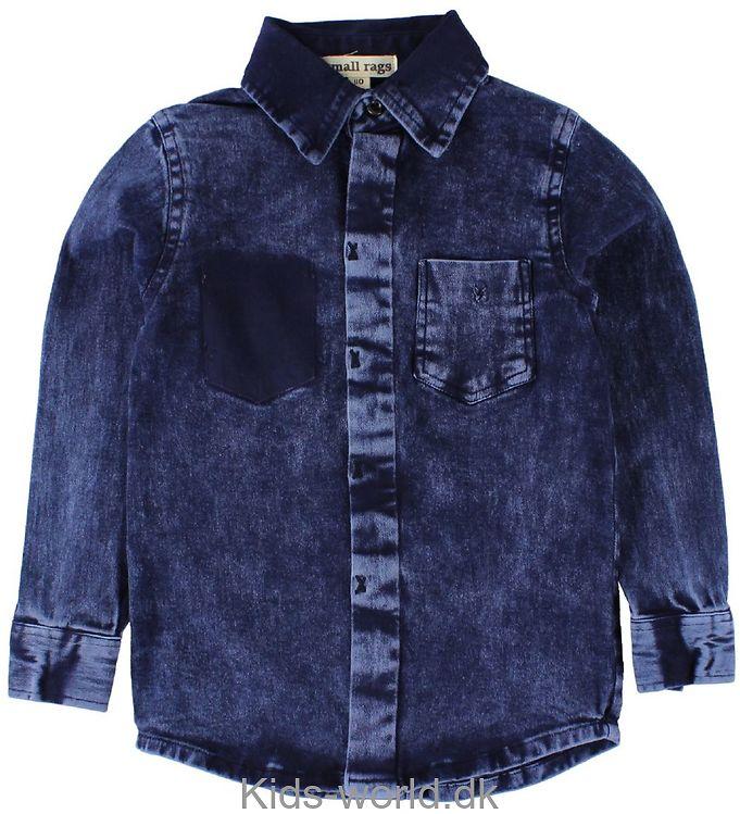 Small Rags Skjorte - Navy Denim