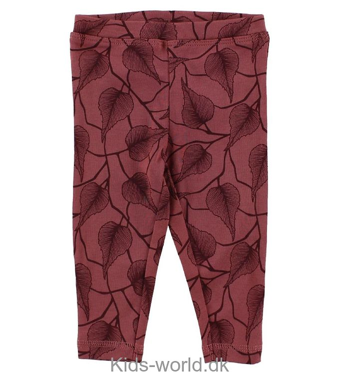 Petit by Sofie Schnoor Leggings - Lys Bordeaux m. Blade