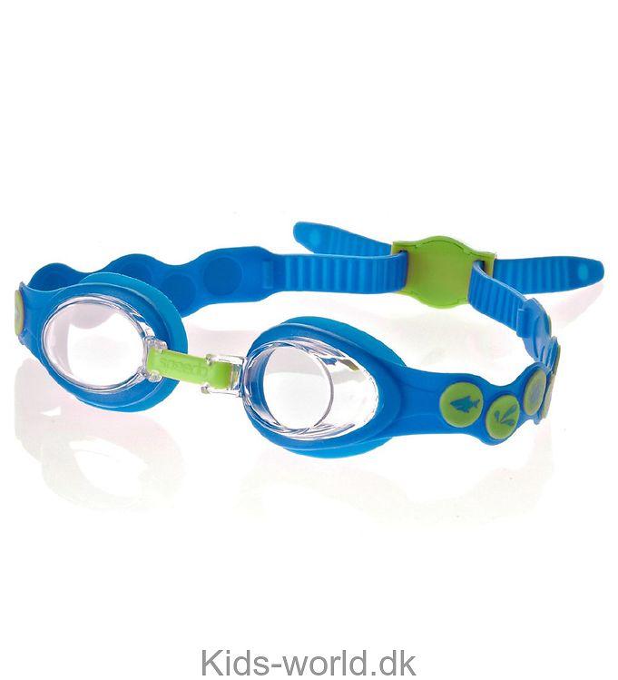 Speedo Svømmebriller - Sea Squad Spot Goggle - Blå/Lime