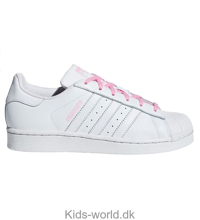 adidas Originals Sko - Superstar - Hvid m. Lyserød