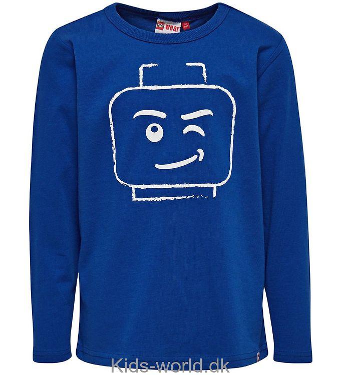Lego Wear Bluse - Blå m. Print