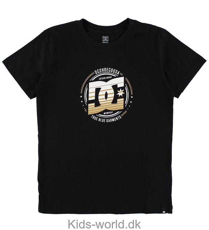 DC T-shirt - Heraldry - Sort
