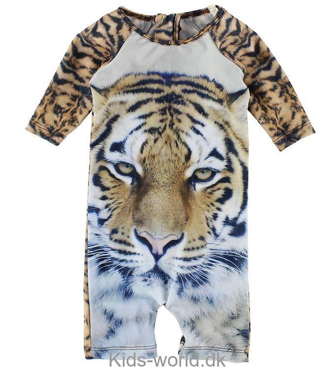 Popupshop Badeheldragt - UV50+ - Tiger