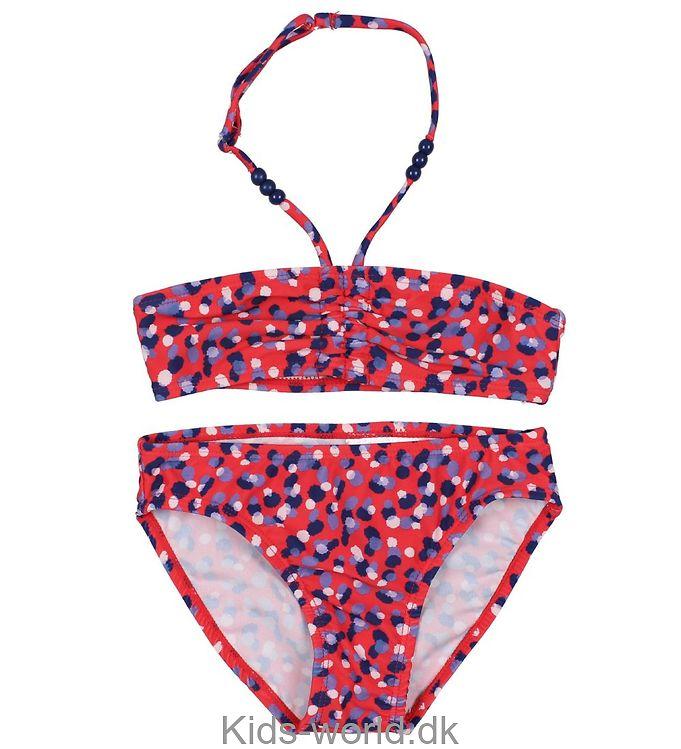 Color Kids Bikini - UV50+ - Numa - Rød m. Print