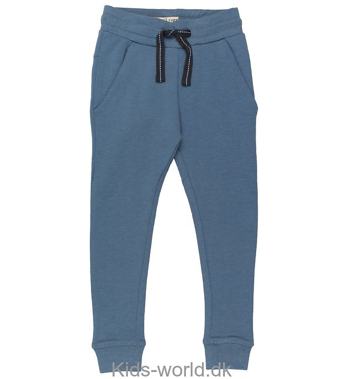 Small Rags Sweatpants - Støvet Blå