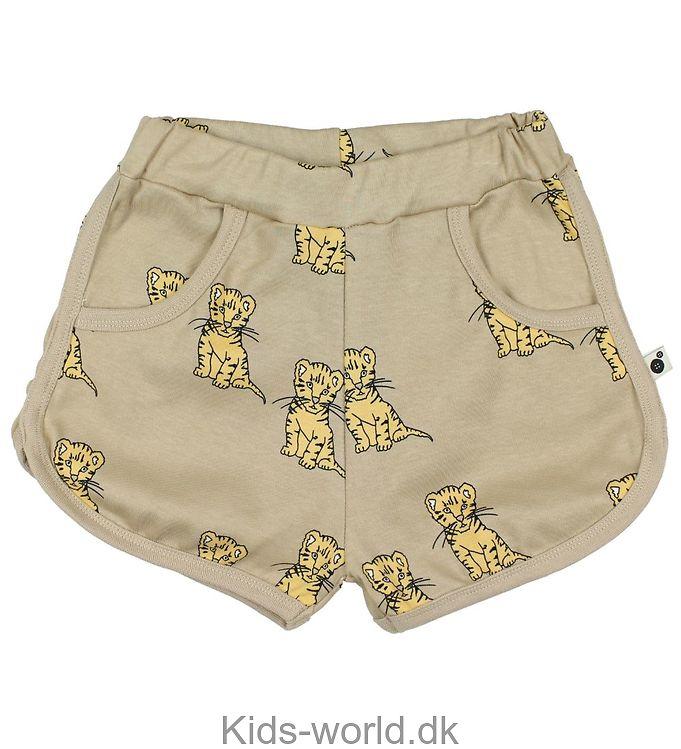 Krutter Shorts - Beige m. Tiger