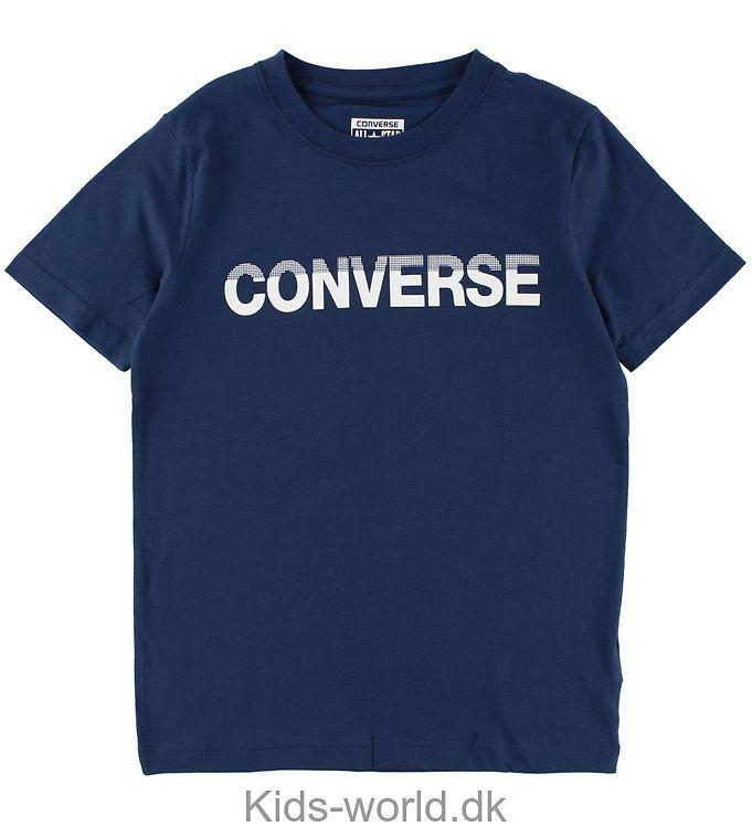 Converse T-shirt - Navy m. Print
