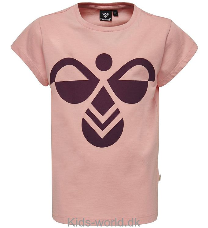 Hummel T-shirt - Kira - Mellow Rose