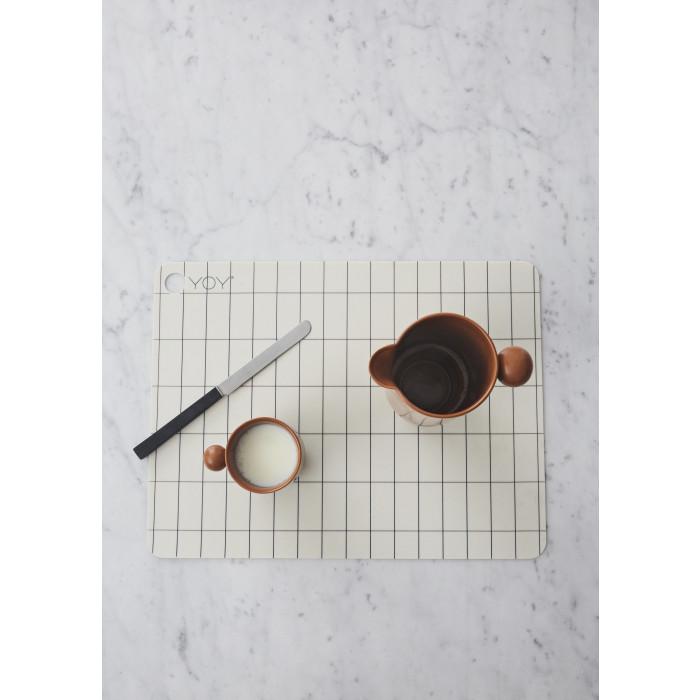 Oyoy dækkeserviet kukei (34x45x0,15 cm/2 stk)