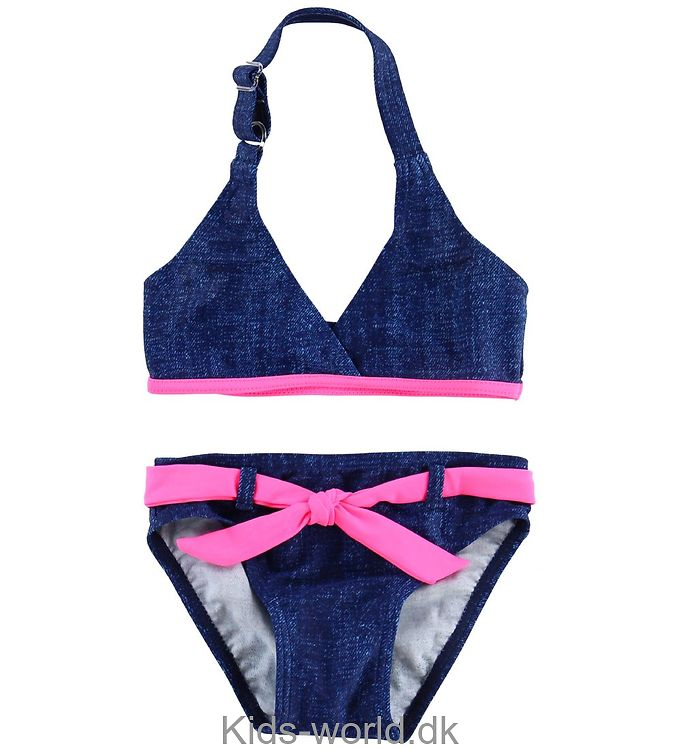 Color Kids Bikini - Vimse - UV40+ - Navy/Pink