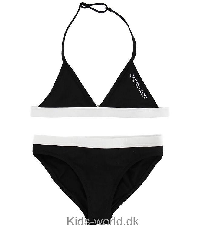 Calvin Klein Bikini - Sort m. Hvid