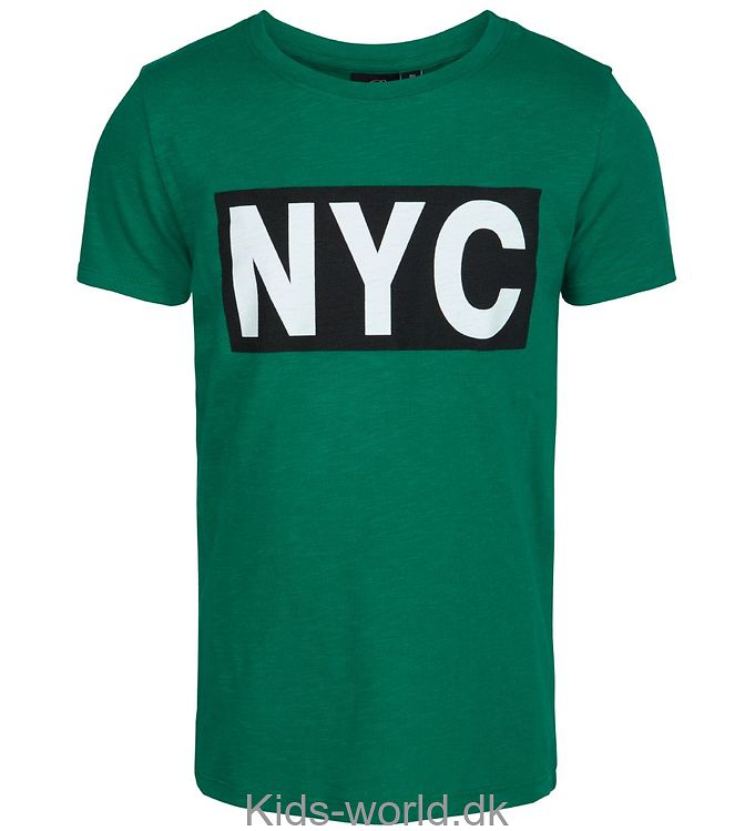Petit by Sofie Schnoor T-shirt - Grøn m. NYC