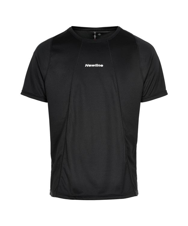 Newline Black Tech Løbe T-shirt Herre