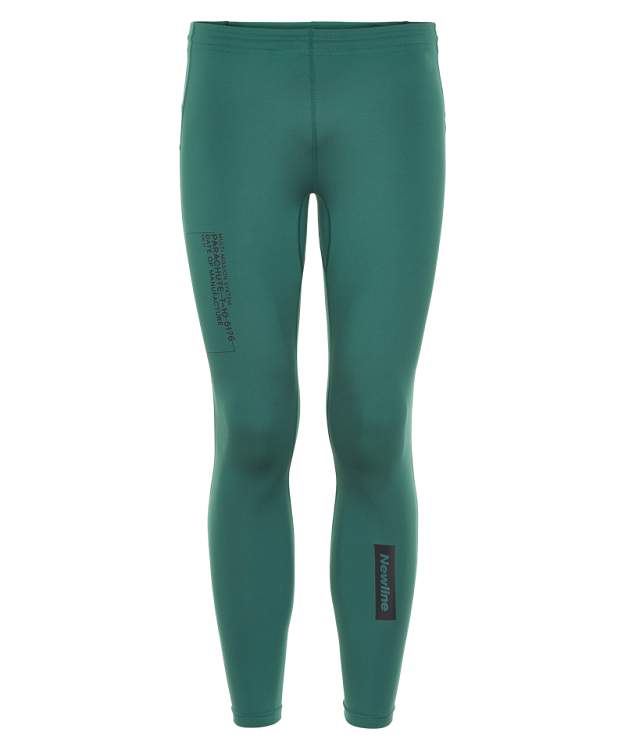 Newline Black Løbetights Herre Mallard Green