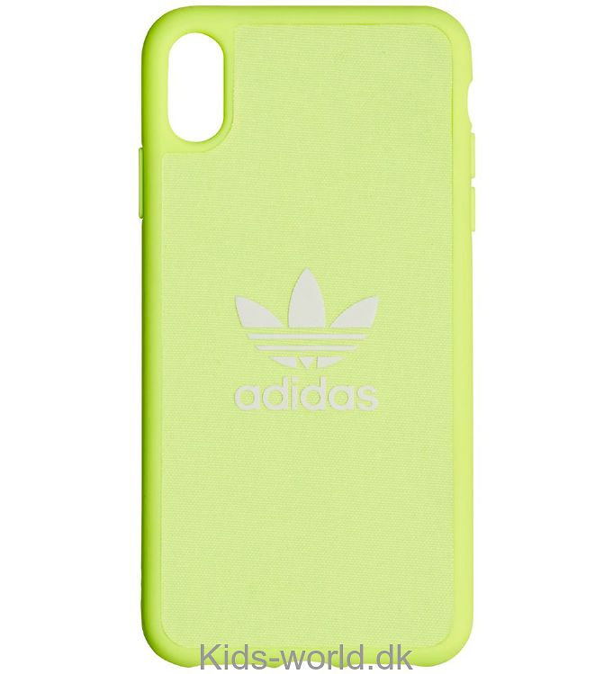 adidas Originals Cover - Trefoil - iPhone XS Max - Hi-Res Yellow
