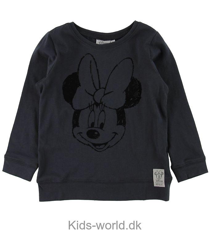 Wheat Disney Bluse - Koksgrå m. Minnie
