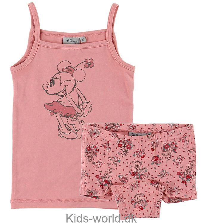 Wheat Disney Undertøj - Rosa m. Minnie/Blomster
