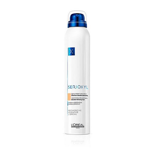 Spray til at give Volumen med Farve Serioxyl LOreal Expert Professionnel (200 ml) Blond hår