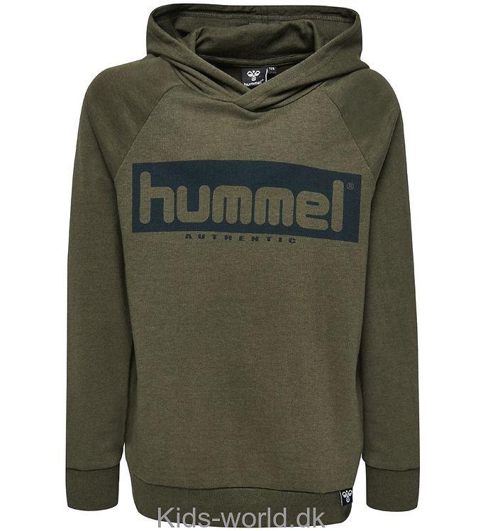 Hummel Sweatshirt m. Hætte - Chad - Armygrøn