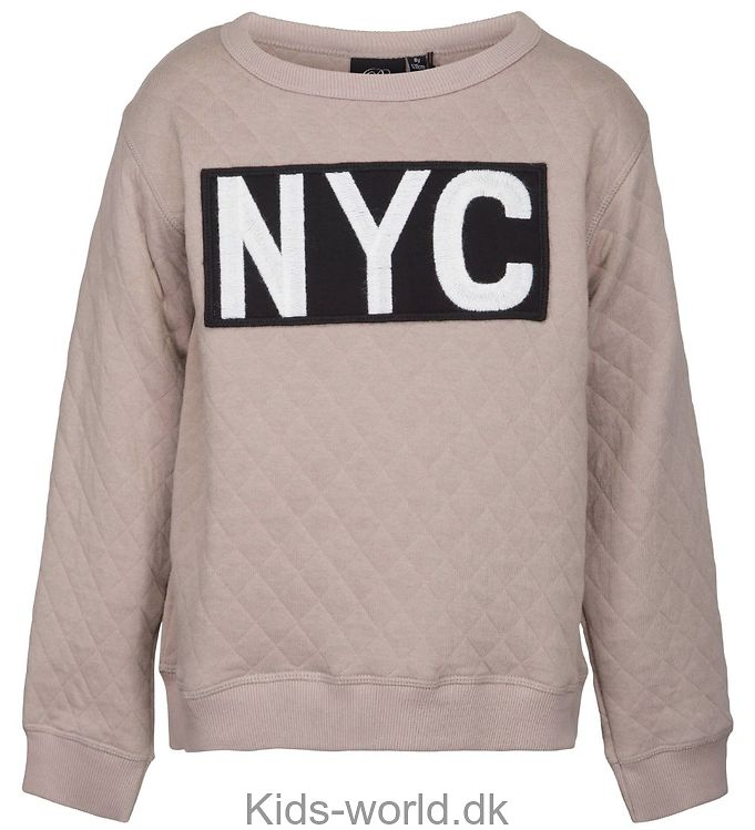Petit by Sofie Schnoor Bluse - Quiltet - Mørk Pudder m. NYC