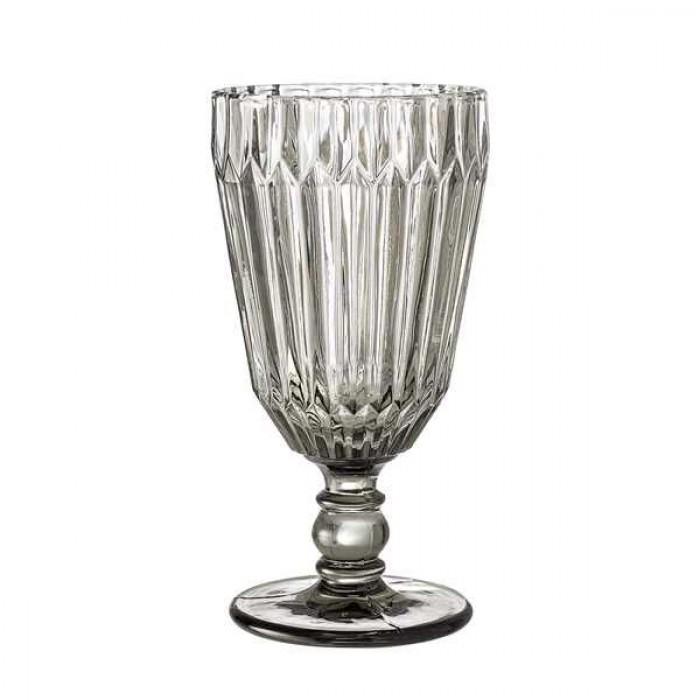 Bloomingville vin glas, grå, glas