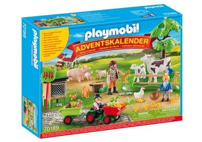 Playmobil - Julekalender - På Bondegården - 70189