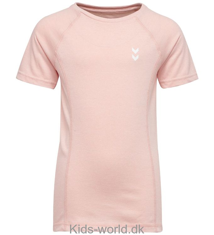 Hummel T-shirt - Pitch - Rosameleret