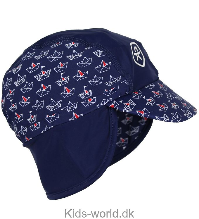 Color Kids Legionærhat - Nadam - Navy m. Skibe