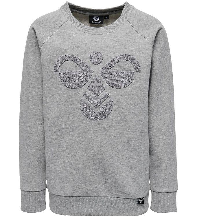Hummel Sweatshirt - Billy - Gråmeleret
