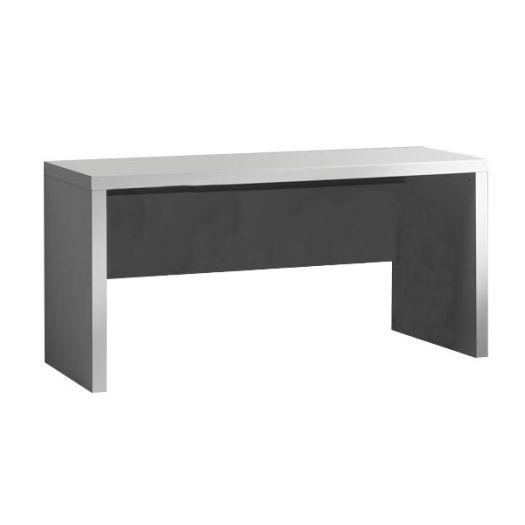 Skrivebord 150 x 700 cm, Lara, Hvid - Vipack